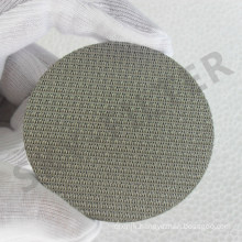 Microns Ss 304 316 316L Sintered Stainless Steel Filter Mesh Disc
