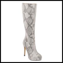 Botas de invierno de tacón alto de rodilla de estilo nuevo (HCY02-1526)