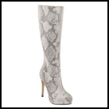 Nouveau style hiver genou haut talon bottes de dames (HCY02-1526)