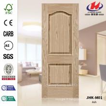 JHK-M01 Spécialement 2016 Convex Ash Veneer Door Skin Manufacture