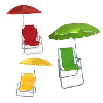 Cómoda silla de playa plegable para niños con paraguas (SP-141)