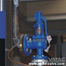 Válvula de seguridad de elevación completa con palanca