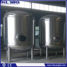 Acier inoxydable de bière de vin de KUNBO vendant des réservoirs de stockage de pression de bière utilisés