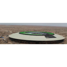 Prefab galvanisiertes leichtes Weltraumstadion
