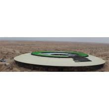 Stade de l'espace léger galvanisé préfabriqué
