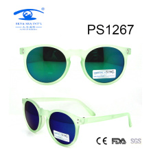 Hot Sale Fashion Green Color Children Sunglasses (PS1267)
