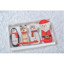 Dekorative individuell bedruckte Schneemannschalen Großhandel Keramikplatten Weihnachten