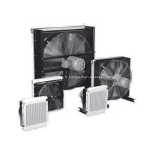 Refroidisseurs à plaques et barres en aluminium pour compresseur d'air