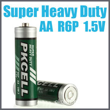 1.5V R6p Super Heavy Duty Dry Battery with Long Life