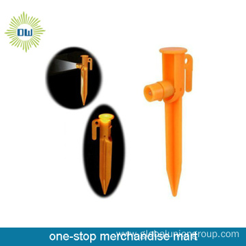 2015 Promotional Camping Ground Peg With Led For Outdoor
