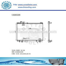 RADIATOR 1640046160 pour TOYOTA 92-96 CROWN Fabricant et vente directe!