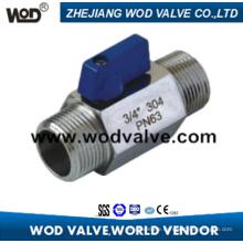 Male Thread Stainless Steel Ball Valve
