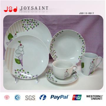 China Wholesale Hot Selling 10.5 Ceramic Dinner Plate Porcelain Dinnerware