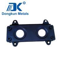 Placa de estampación de acero con orificio de perforación