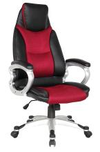 Comfortable High Quality PU and Mesh New Modle Reclining Manager Chair, Office Chair