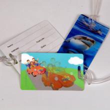 3D Effect Lenticular Plastic Label Printing