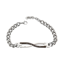 75012 Xuping titanium jewelry custom chain magnetic bracelet