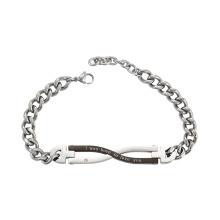 75012 Xuping titanium jóias personalizado corrente pulseira magnética
