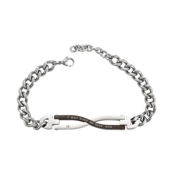 75012 Xuping ювелирные изделия из титана на заказ цепочка магнитный браслет
