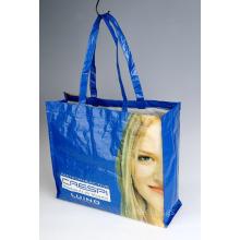 Sacs en plastique réutilisables PP, sacs à bandoulière, sacs à provisions