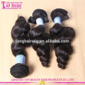 Factory wholesale 5a grade human hair extensions in stock virgin chinese hair bundles