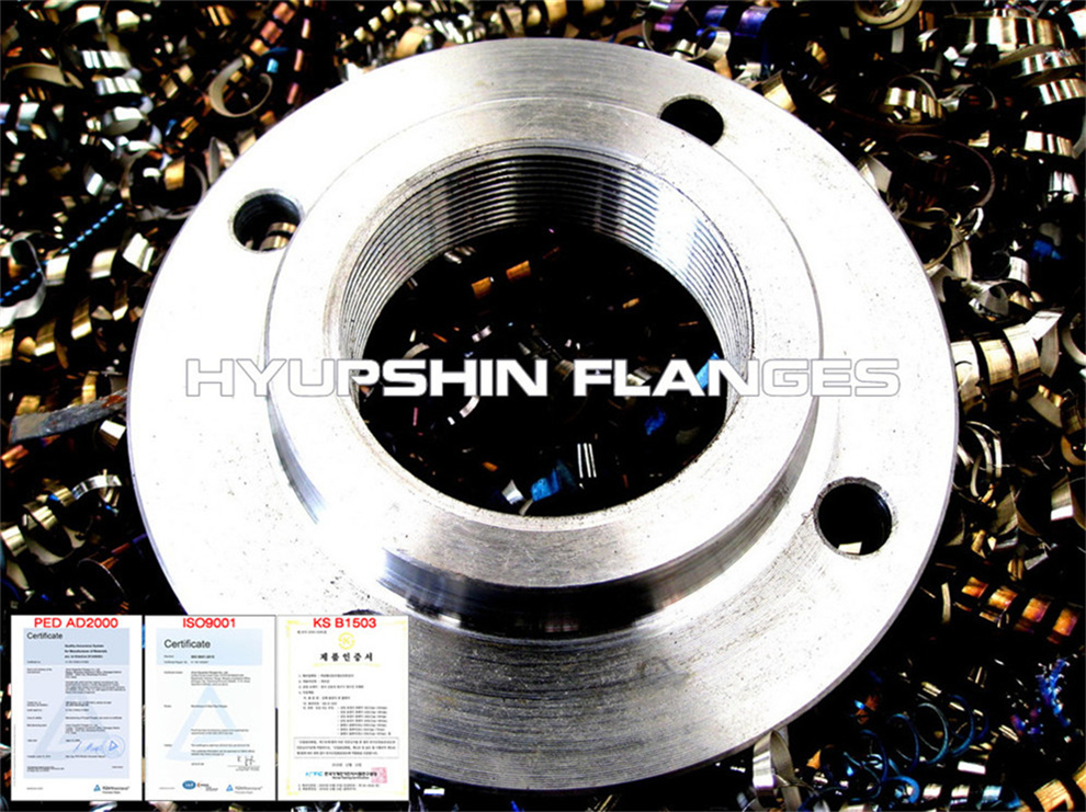 Hyupshin Flanges Threaded En1092 1 Din Pn16
