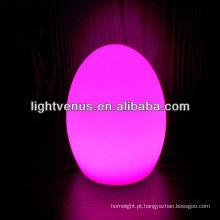 lâmpada de ovo com cabo usb para restaurante, café, bares