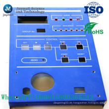 Customzied Powder Coating lackiert Aluminium Druckguss Control Panel