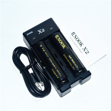 ENOOK X 2 перезаряжаемые 18650 зарядное устройство