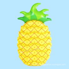 Flutuador de piscina inflável de abacaxi