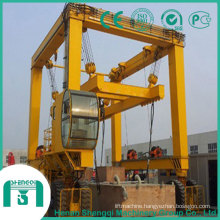 Container Gantry Crane-Rubber Tyre Gantry Crane for Container Lifting