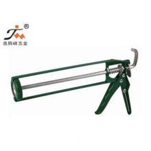9 Inch / 300ml Steel Manual Skeleton Caulking Gun With Punc