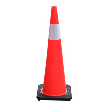 90cm Soft Flexible Colored PVC plastic traffic cones