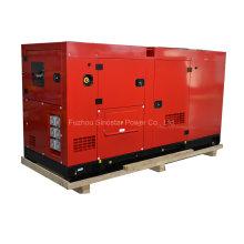 Gerador de diesel silencioso série Weichai 50kVA 40kw