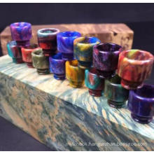 Colorful 510 Resin Drip Tip for Atomizer Can OEM Logo