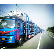 Cargador del coche de 8 coches Fongfeng Transporte semi remolque del camión / carro del coche / remolque del portador del coche