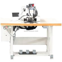 Máquina de coser de patrón automático programable Extra resistente hilo de rosca grueso con gancho de la lanzadera grande