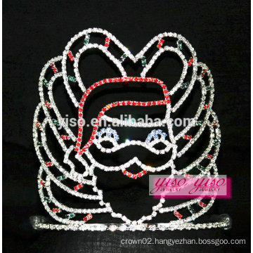 gorgeous US saints Christmas eve party pageant tiara