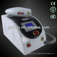 Retiro del tatuaje del laser del salón del yn del portable nd
