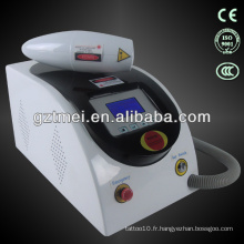 Détection de tatouage laser laser nd yag portable