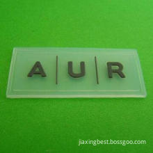 Nontoxic Silicone Label, Harmless, Soft Feeling, Durable, Customized Designs Welcomed