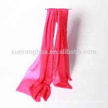 chal de cachemira de mantones de anillo de color sólido prohibido para las mujeres