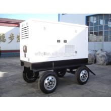 Conjunto de generador silencioso de 4 ruedas
