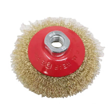 Brass Wire wheel brush for tools stainless steel wire brushes