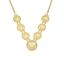 Turkish 18kgp Gold Filled 18 Chain Necklace, Jewelry Picture Solid 18k Gold Plated Necklace