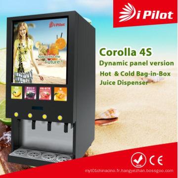 Machine à jus de fruits frais et chaud (Corolla 4S)