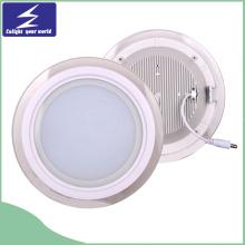 Kühles weißes AC85-265V LED quadratisches Glas-Verkleidungs-Licht