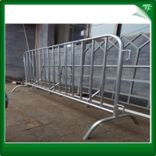 PVC steel traffic crowd control barriers