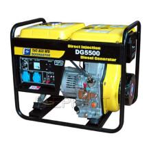 Générateur diesel refroidi par air de 5.0kw