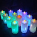 Flameless Thống Led Wax Tea Light Tealight Nến
